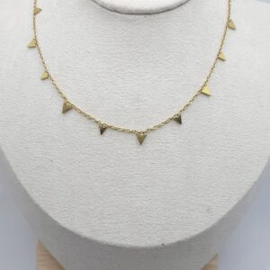 Collar Pinchos Oro